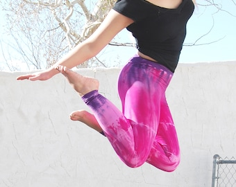 e21dbd35da7b16 Leggings pink dragon | Etsy