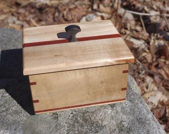 Maple and Padauk Box