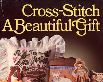 Cross Stitch a Beautiful Gift by Sharon Pema  | Craft Book