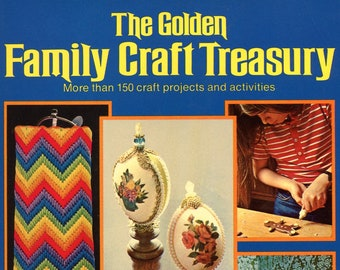The Golden Family Craft Treasury  by Golden Press