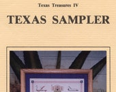 Texas Sampler - Texas Tresures IV From Redbone Valley (cross Stitch) | Craft Leaflet