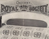 Royal Society Crochet Book No. 38  - Vintage From 1935 | Craft Book
