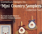 Mini Country Samplers, Collection Two (cross Stitch) - Sample Only From Canterbury Designs, Inc., Book 21 | Craft Book