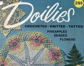 Doilies - Crocheted, Knitted, Tatted From American Thread Co (Star Book No. 172) | Mini Craft Book