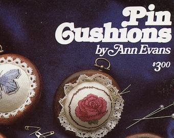 Pin Cushions by Ann Evans (cross stitch)  | Craft Book