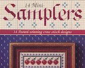 14 Mini Samplers (cross Stitch) From Cross Stitch And Country Crafts | Small Craft Book