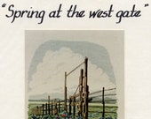 Spring At The West Gate Cross-stitch Pattern By Jean Lanning From Artventures