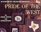 Pride Of The West Cross Stitch Patterns From Quackenbush Creations | Craft Book
