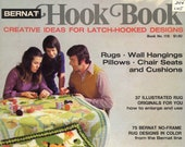 Hook Book From Bernat (rug Hooking) | Craft Book