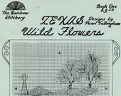 Texas Wildflowers - Designs By Pearl Fellingham From The Rainbow Stitchery (cross-stitch) | Small Craft Book