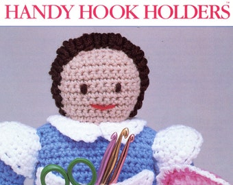 Handy Hook Holders crochet Pattern from Annie's Attic | Craft Leaflet