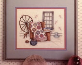 Yesterday's Dream Cross Stitch Pattern By Paula Vaughan - Leisure Arts Leaflet 449 | Craft Book
