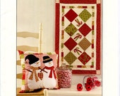 Candy Cane Lane Quilt Pattern From Bunny Hill Designs #1095 | Christmas Craft Pattern