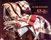 Scrap Happy - Quick Pieced Scrap Quilts By Sally Schneider | Craft Book