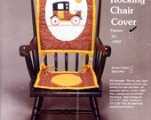Rocking Chair Cover Applique/quilting Pattern By Flying Fingers