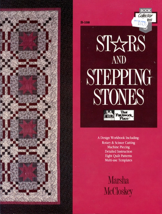 Stars and stepping stones by marsha mccloskey quilting etsy maxwellsz