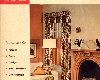 How to Make Draperies from the Singer Sewing Library