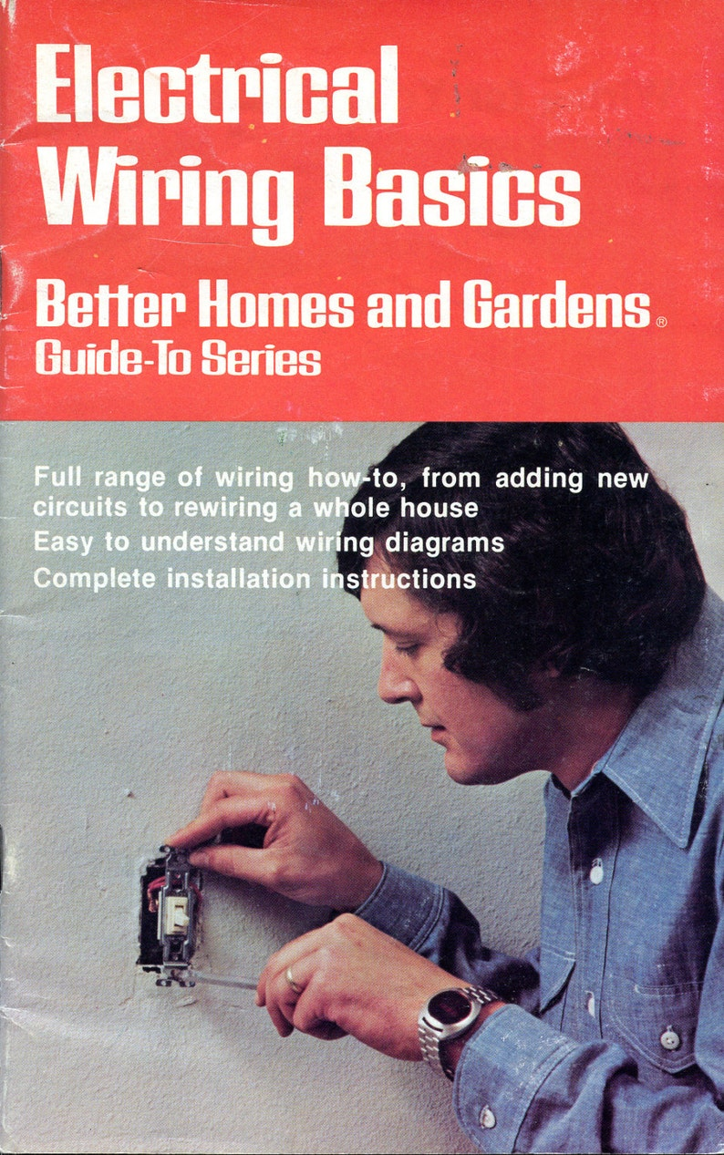 Strange Electrical Wiring Basics From Better Homes And Gardens Home Etsy Wiring 101 Akebretraxxcnl
