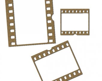 Film Strip Frames Set of 3  FREE SHIPPING! in US