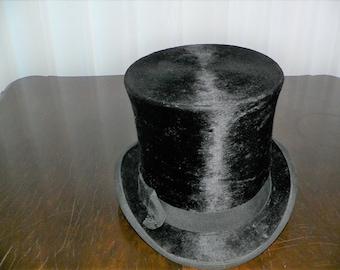 a97359d715f Victorian Edwardian Beaver Top Hat
