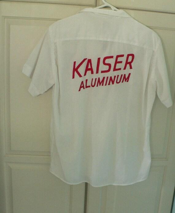 1950's Hilton Bowling Shirt Kaiser Aluminum Tony S