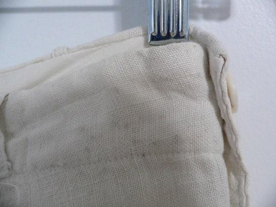1920's Linen Golf Knickers / Golf Pants Waist 31 … - image 9