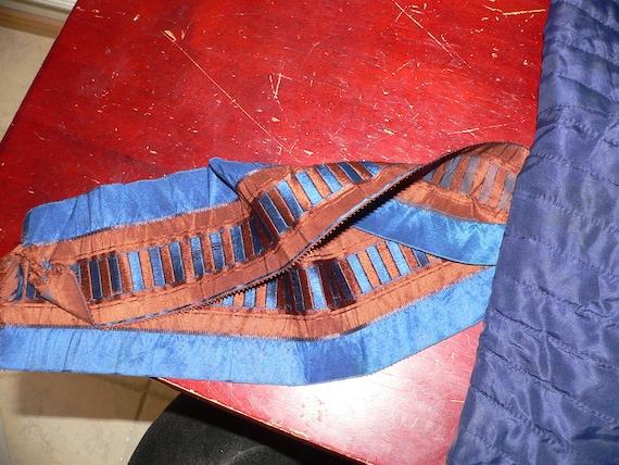 Antique 1850's 1860's Quilted Victorian Bonnet - image 5