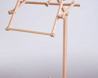 Cross stitch frame Embroidery frame Tapestry gobelin holder frame Bead embroidery frame Floor Frame Stand Wood frame 35x48 cm