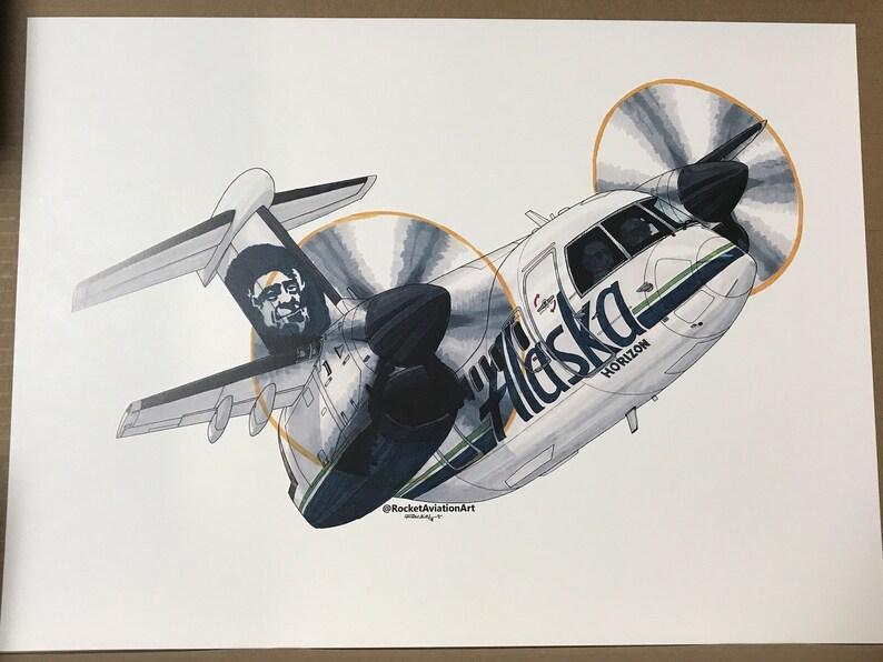 Alaska Horizon Q400