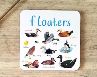 Floaters Bird Coaster - CS07