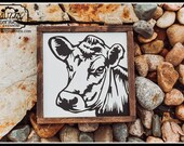 Cow Head Sign