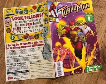 Turboman Comic Book Replica Prop - Jingle All The Way - Christmas