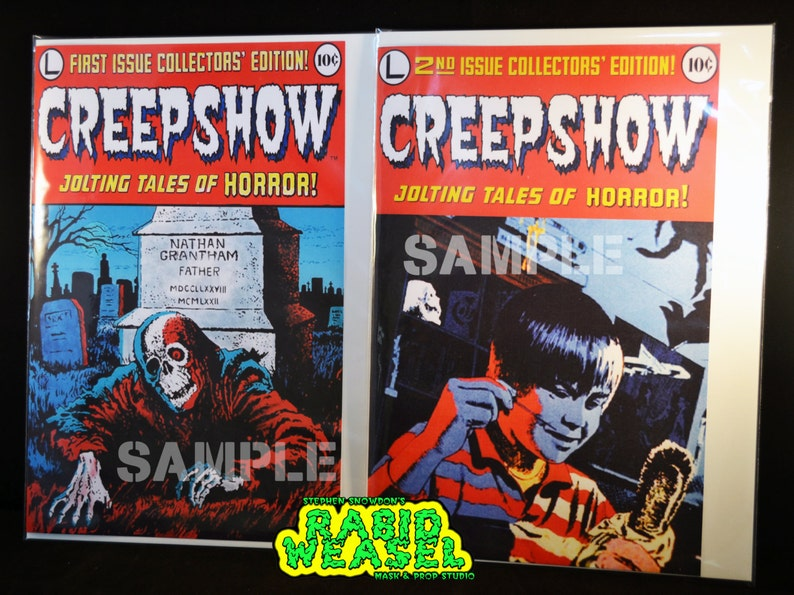 Book creepshow comic