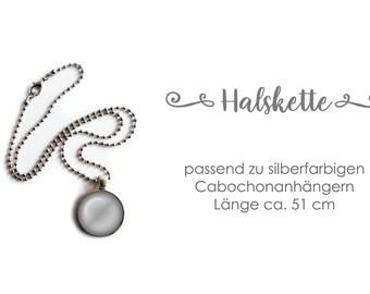 Chain silver-coloured 51 cm