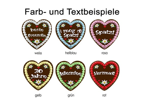 Ironing Picture Gingerbread Heart Personalized Ironing Pictures Ironing Foil Appliqué Patches Application Appli T Shirt Picture