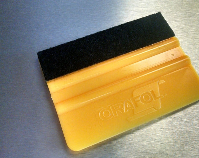 "Oracal 4"" Yellow Squeegee - Vinyl Application Tool - Vinyl Squeegee - Vinyl Tool for Decals Graphics"