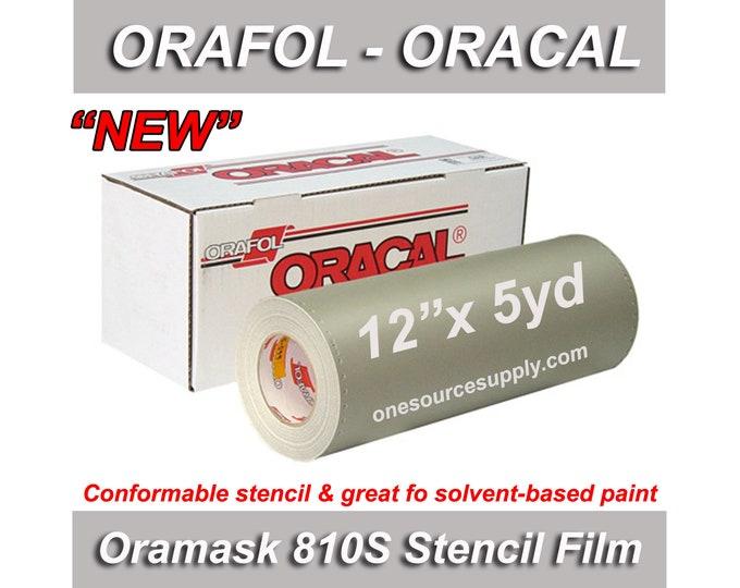 "1 ea / 12""x 5yd / Oracal 810S Oramask Stencil Vinyl"