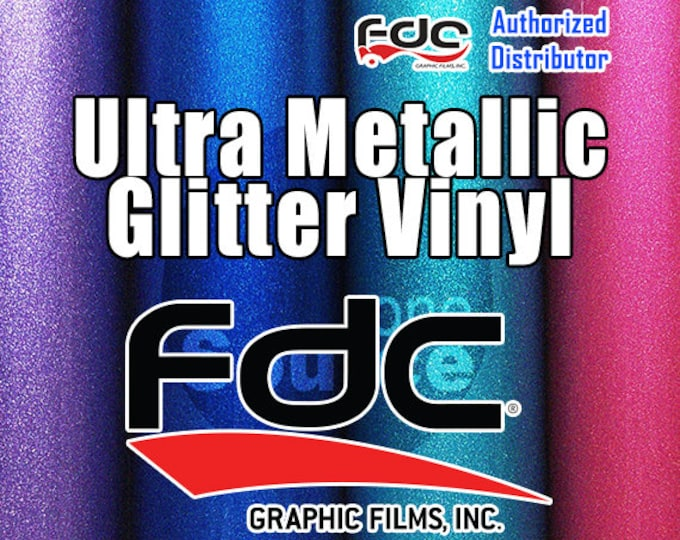 "20PK / 12""x 24"" / FDC® 3700 Premium Ultra Metallic Vinyl Film - While Supplies Last!"