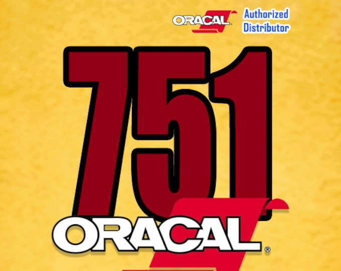 """ORACAL 751 / 12"""" x 10 yards*  (1-roll) Black or White"""