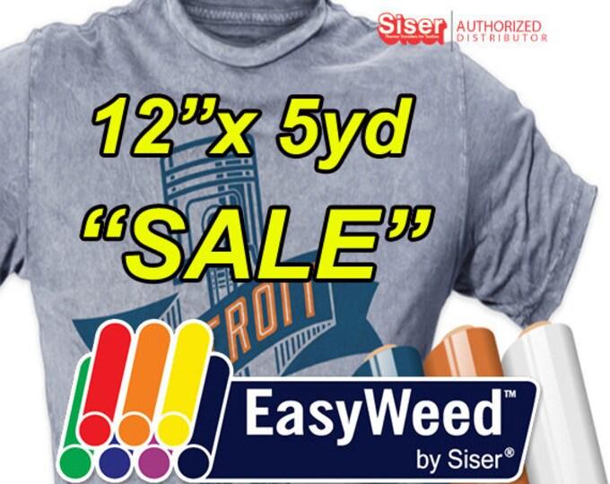 "12"" * x 5yd  ""SALE""  Siser EasyWeed Melon"