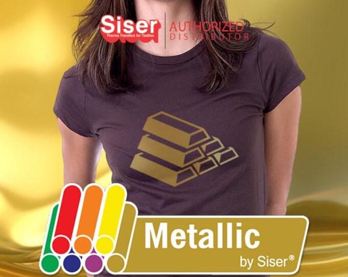 "Easyweed Metallic  12"" x 20""* - Heat Transfer Vinyl - HTV, SALE while supplies last"