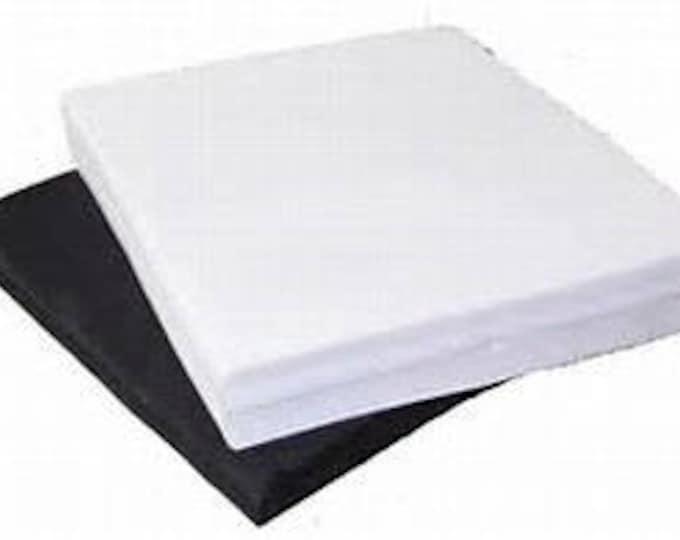 """16"""" x 18"""" / 50pk White Test Squares (Pellon)"""