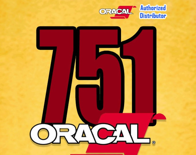 "ORACAL 751 / 12"" x 24""* Sheet / Black or White"