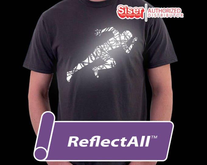 "12""x 20"" 1-sheet SISER ReflectAll -  Reflective - Heat Transfer Vinyl - HTV"