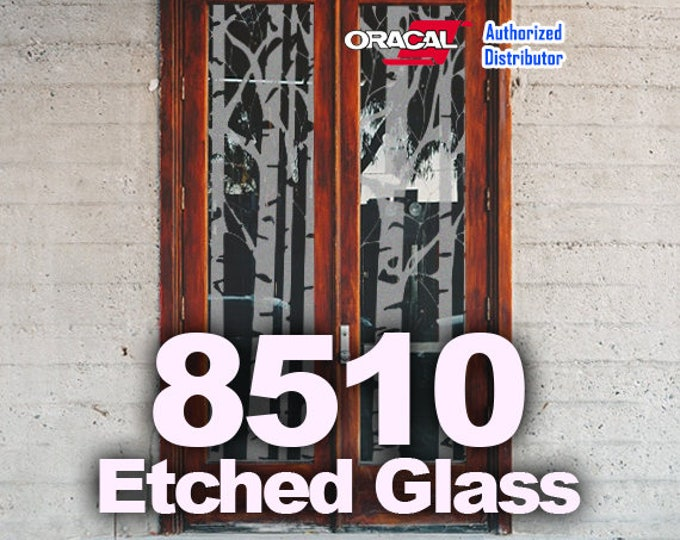 "12"" x 24""* / 1-sheet Oracal Etched Glass Vinyl, Cricut Vinyl, Craft Vinyl, Etched Glass, Glass Decoration"