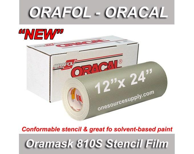 "1 ea / 12""x 24"" Oracal 810S Oramask Stencil Vinyl"