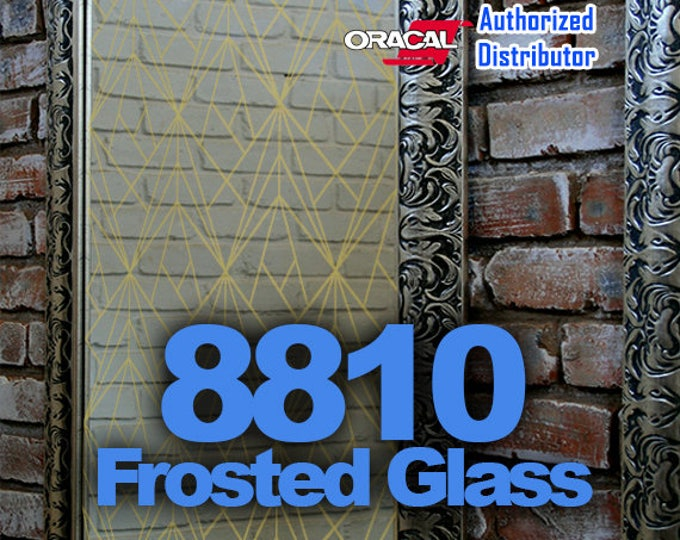 "12"" x 24"" Oracal Frosted Glass Vinyl, Cricut Vinyl, Craft Vinyl, Frosted Glass, Glass Decoration"