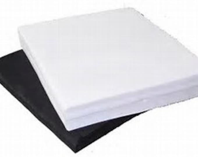 """14"""" x 16"""" / 10pk White Test Squares (Pellon)"""