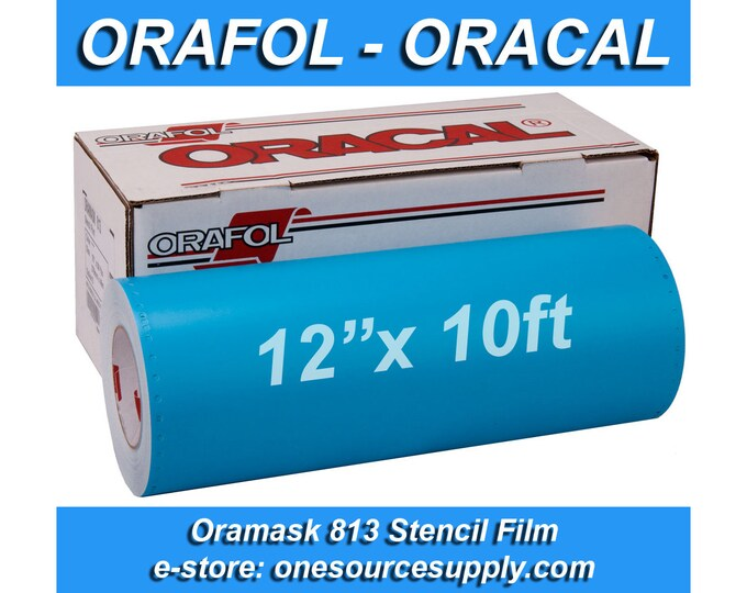 "1 roll 12""x 10 foot* Oracal 813 Oramask Stencil Vinyl"
