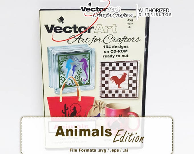 Animals / VectorArt Crafters Artwork CD
